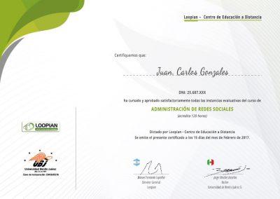 Diploma muestra